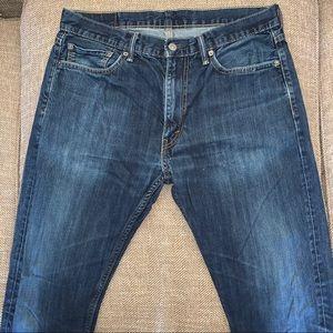EUC Levi's 513 Jeans Size 34.